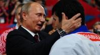 Russian wrestling coach Vladimir Uruimagov